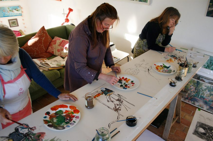 painting class cotswolds